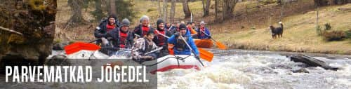 Parvemat Rafting Banner