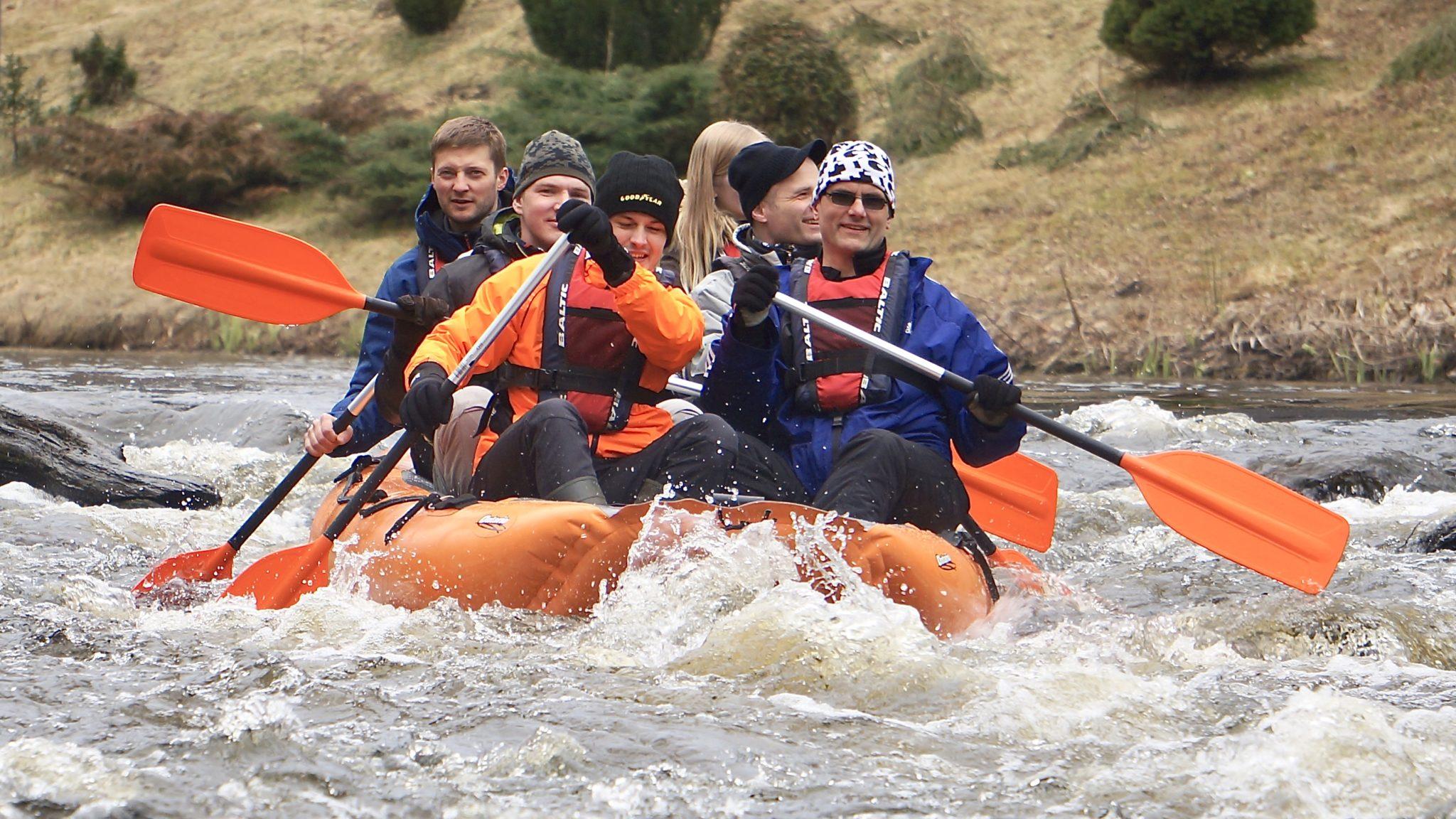 Parvematk Rafting Võhandu