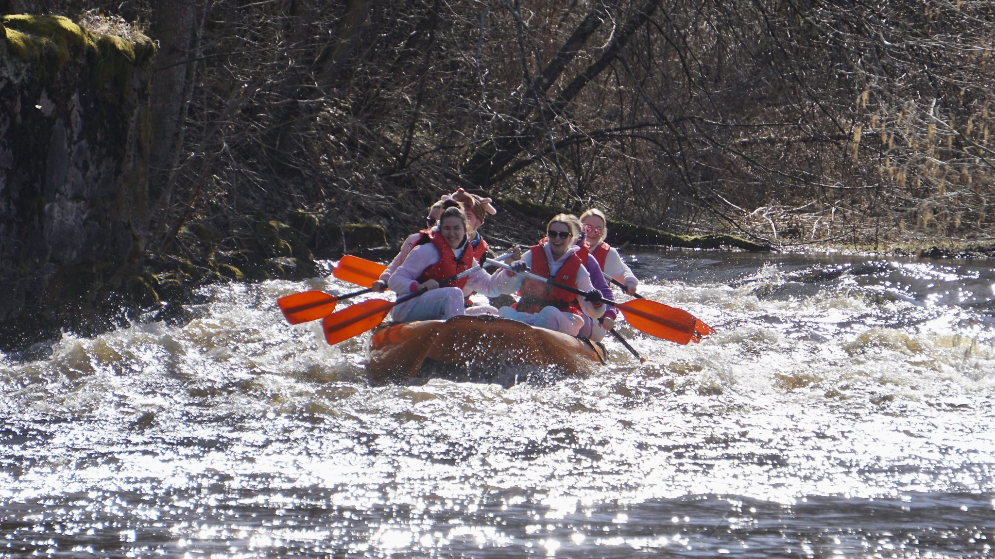 Parvematk Rafting